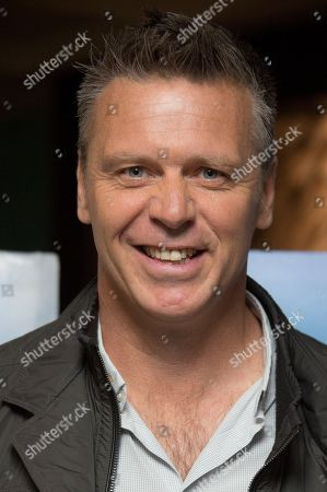 Former British Olympian Steve Backley arrives for the screening of The House Of Magic, at the Vue Cinema in central London
