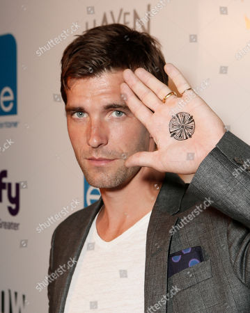 "Lucas Bryant attends the Entertainment One ""Haven"" Party at Comic Con 2012 on in San Diego, CA"