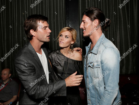 "Lucas Bryant, Emily Rose and Eric Balfour attend the Entertainment One ""Haven"" Party at Comic Con 2012 on in San Diego, CA"