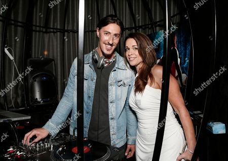 """Eric Balfour and Chase Masterson attend the Entertainment One """"Haven"""" Party at Comic Con 2012 on in San Diego, CA"""