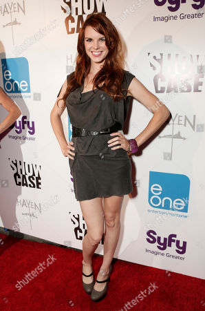 """Catherine Annette attends the Entertainment One """"Haven"""" Party at Comic Con 2012 on in San Diego, CA"""