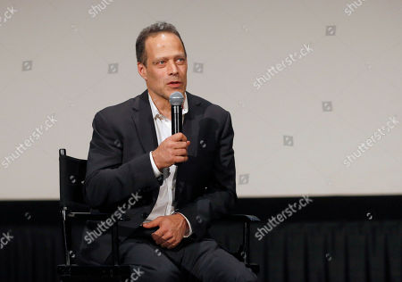 Director Sebastian Junger attends HBO Documentary Films' Which Way Is the Frontline From Here: The Life and Time of Tim Hetherington Los Angeles Premiere, on Thursday, April, 4, 2013 in Los Angeles