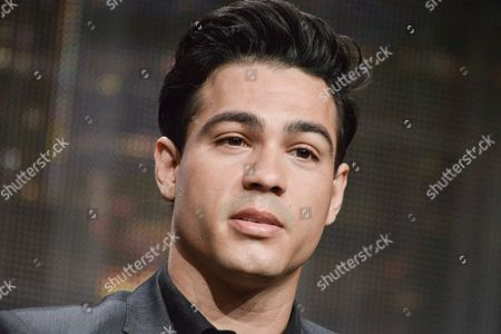 "Ray Diaz speaks onstage during the ""East Los High'"" segment of the the Hulu 2014 Summer TCA, in Beverly Hills, Calif"