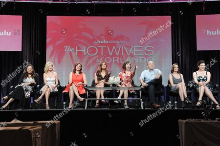 Editorial image of Hulu 2014 Summer TCA, Beverly Hills, USA