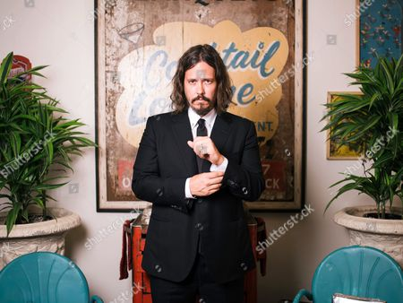 John Paul White poses for a portrait at Waverly on Doheny before playing a show at The Troubadour in West Hollywood, Calif. After the breakup of his band Civil Wards, White is back with a new solo album called, Beulah.â