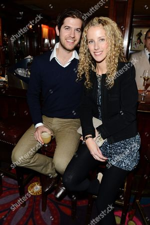 Stock Picture of Jack Freud and Kate Melhuish seen at the Johnnie Walker Blue Label and David Gandy Partnership Launch Party at Annabel's, Berkeley Square, in London