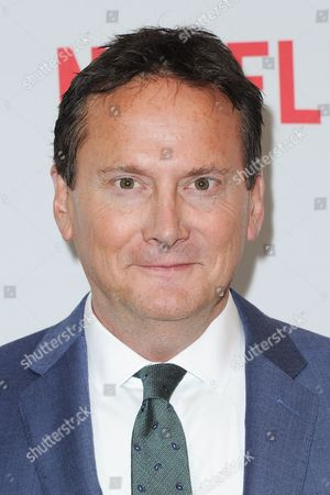 """Michael Hitchcock attends a special screening of """"Mascots"""" held at the Linwood Dunn Theater, in Los Angeles"""