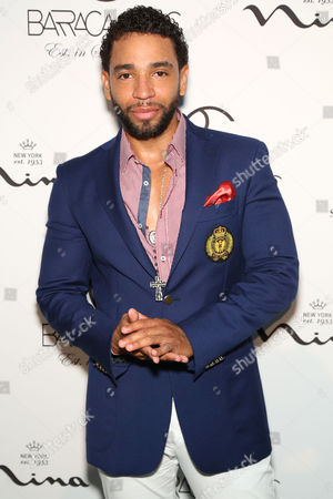 Singer-songwriter, Henry Santos, formerly of music group Aventura, attends the Barraca Chic Resort 2015 Collection during Miami Swim Week on at SLS South Beach in MIami Beach, Fl