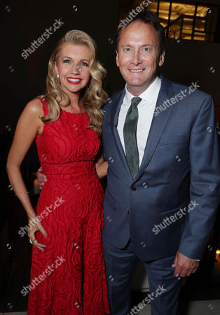 Susan Yeagley and Michael Hitchcock seen at Netflix original film 'Mascots' Los Angeles Special Screening, in Los Angeles, CA