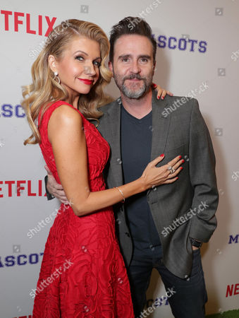 Susan Yeagley and Christopher Moynihan seen at Netflix original film 'Mascots' Los Angeles Special Screening, in Los Angeles, CA