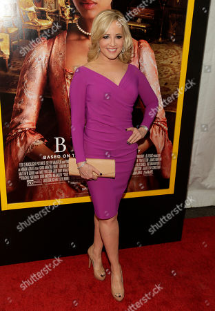 """Television journalist Jamie Colby attends the New York premiere of """"Belle"""", in New York"""