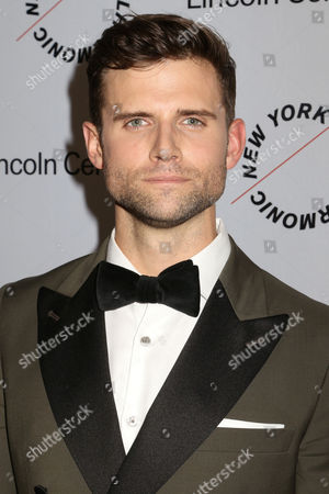Kyle Dean Massey attends Sinatra: Voice for a Century concert at David Geffen Hall, in New York