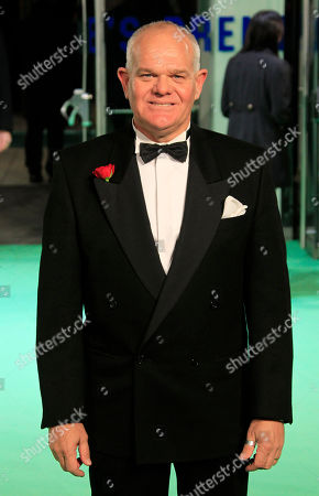 Mark Hadlow arrives on the red carpet at a Leicester Square cinema for the Royal Performance of The Hobbit: An Unexpected Journey