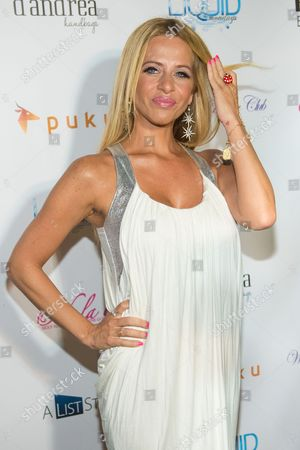 "Dina Manzo attends ""The Real Housewives of New Jersey"" White Party at the Woodbury Country Club on in New York"