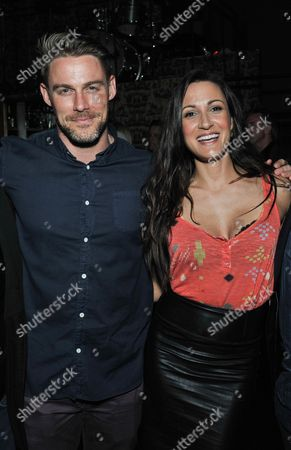 Jessie Pavelka, left, and Sitara Hewitt attend the Unlikely Heroes Spring Benefit event, in Los Angeles