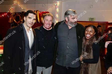 Stephen Blackehart, John C. McGinley, Benjamin Byron Davis and Gail Bean seen at 'The Belko Experiment' Trailer Unveiling, in Los Angeles, CA