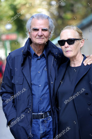 Stock Picture of Fashion photographer Patrick Demarchelier with his wife Mia