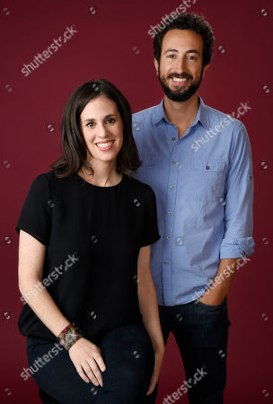 "Elyse Steinberg, left, and Josh Kriegman, co-directors of the Showtime documentary ""Weiner,"" pose together for a portrait during the 2016 Television Critics Association Summer Press Tour at the Beverly Hilton, in Beverly Hills, Calif"