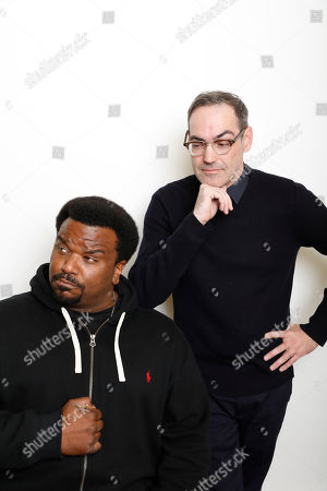 "Craig Robinson; Chad Hartigan Actor Craig Robinson, left, and filmmaker Chad Hartigan pose for a portrait to promote the film, ""Morris From America"", at the Toyota Mirai Music Lodge during the Sundance Film Festival on in Park City, Utah"