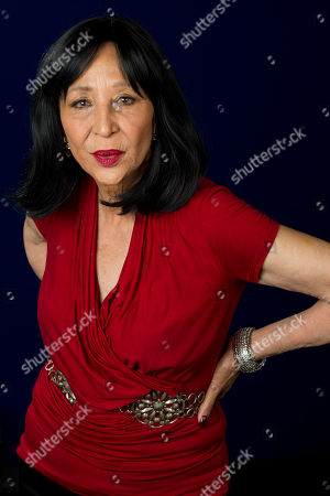"Model China Machado featured in the documentary ""About Face: Supermodels Then and Now"" poses for a portrait on in New York"