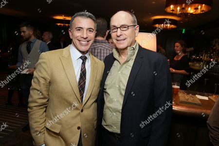 """EXCLUSIVE - President of Marketing for The Walt Disney Studios, Ricky Strauss and Screenwriter James Lapine joined Alan Horn, Chairman of Walt Disney Studios, hosted a holiday gathering celebrating """"Into the Woods"""" on Wednesday, December 17 in Los Angeles, CA. The humorous and heartfelt musical, that has been nominated for 3 golden globe awards including Best Picture opens in theaters nationwide on"""