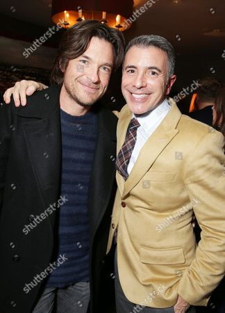 """EXCLUSIVE - Jason Bateman and President of Marketing for The Walt Disney Studios, Ricky Strauss joined Alan Horn, Chairman of Walt Disney Studios, hosted a holiday gathering celebrating """"Into the Woods"""" on Wednesday, December 17 in Los Angeles, CA. The humorous and heartfelt musical, that has been nominated for 3 golden globe awards including Best Picture opens in theaters nationwide on"""