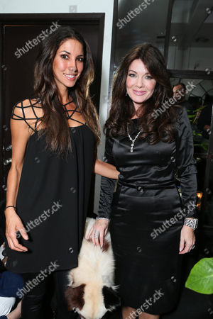 Leilani Dowding and Lisa Vanderpump at the American Humane Association cocktail party hosted by Lisa Vanderpump and Gigi, on Wednesdayt, in West Hollywood, CA
