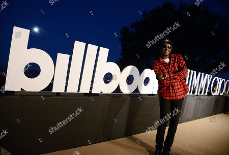 Theophilus London attends Billboard & Jimmy Choo's Men of Style, in Los Angeles