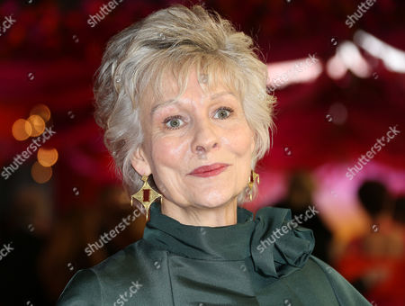 Actress Diana Hardcastle arrives for the World Premiere of The Second Best Exotic Marigold Hotel at a central London cinema in Leicester Square