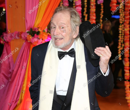 Ronald Pickup arrives for the World Premiere of The Second Best Exotic Marigold Hotel at the BFI at a central London cinema in Leicester Square