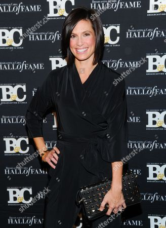 Stock Picture of Life style journalist Megan Meany attends the 23rd Annual Broadcasting & Cable Hall of Fame Awards at the Waldorf-Astoria on in New York