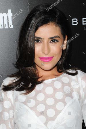 Sazan Hendrix attends Entertainment Weekly's Celebration Honoring Nominees for the SAG Awards held at Chateau Marmont, in Los Angeles