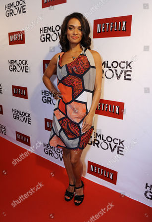 Kandyse McClure arrives at the Hemlock Grove North America Premiere, in Toronto
