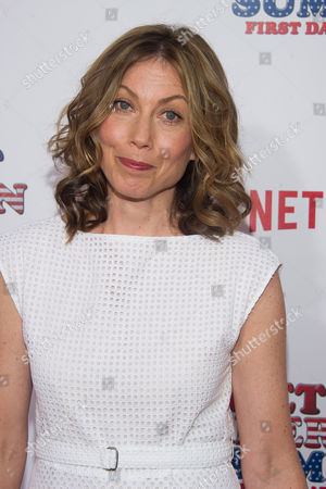 """Nina Hellman attends the premiere of Netflix's new original series, """"Wet Hot American Summer: First Day of Camp"""", at the SVA Theater, in New York"""