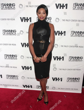 """Former Miss USA Nana Meriwether attends a screening of """"The Tanning of America: One Nation Under Hip Hop"""" on in New York"""