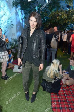 Ben Grimes at Pimm's Summer Garden in London on