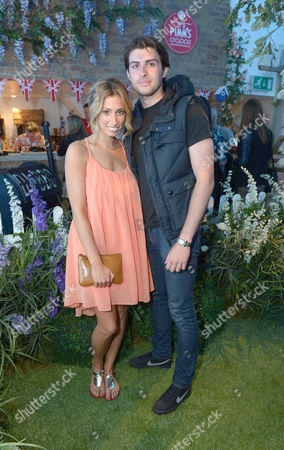 Stacey Soloman at Pimm's Summer Garden in London on