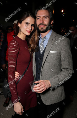 Stock Picture of Sandrina Bencomo and Emanuel Michael attend the Premiere Party for What We Do In The Shadows at The Collective, on Monday, January, 20, 2014 in Park City, Utah