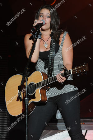 WEST PALM BEACH, FL - AUGUST 11: Rachel Farley performs during the My Kinda Party Tour 2012 at the Cruzan Amphitheater on in West Palm Beach,Florida