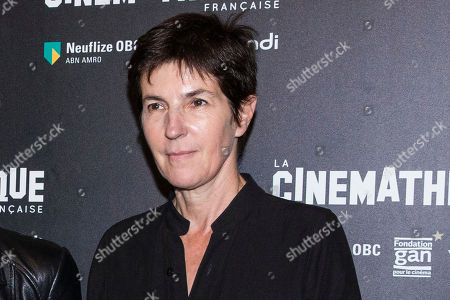 "French novelist Christine Angot attends the premiere of ""Un Beau Soleil Interieur"" in Paris, France"