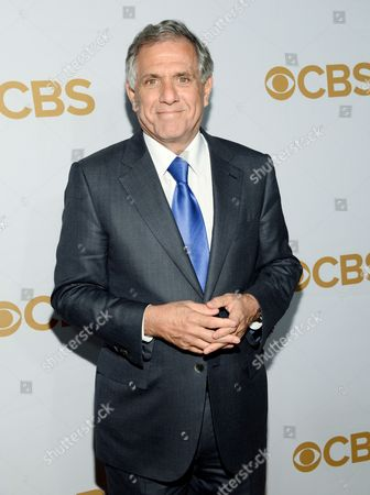 Les Moonves CBS president Leslie Moonves attends the CBS Network 2015 Programming Upfront at The Tent at Lincoln Center in New York. CBS says media mogul Sumner Redstone has resigned as chair of the company board, replaced by the company CEO, Moonves. The company says Redstone resignation took effect, and he now serves as chairman emeritus