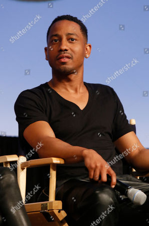 "Brandon Jackson discusses his new Hulu series ""Deadbeat"" during the SXSW Film Festival, in Austin, Texas"