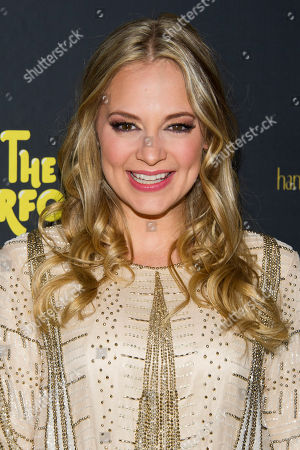 """Jenni Barber appears at the after party for the opening night performance of the Broadway play """"The Performers"""" on in New York"""