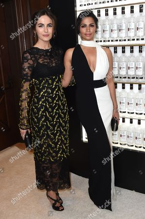 Camilla Belle, left, and Camila Alves attend unite4:good and Variety's 3rd Annual unite4:humanity at Montage Beverly Hills on in Beverly Hills, California
