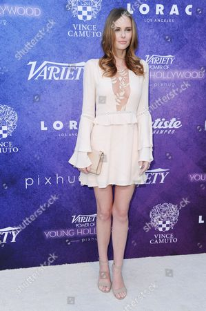 Stock Image of Alyssa Campanella attends Variety's Power of Young Hollywood event at NeueHouse Hollywood, in Los Angeles