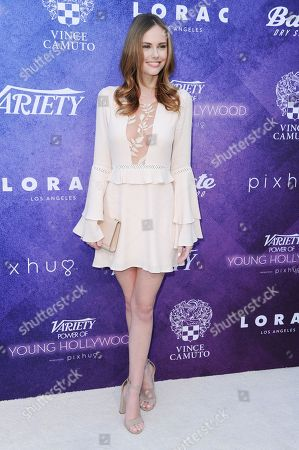 Alyssa Campanella attends Variety's Power of Young Hollywood event at NeueHouse Hollywood, in Los Angeles