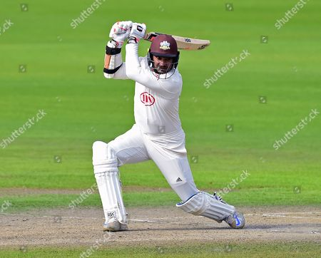 Kumar Sangakkara bats in his final innings