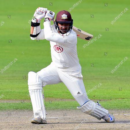 Kumar Sangakkara batting