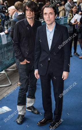 Stock Picture of Jonny Greenwood and Colin Greenwood