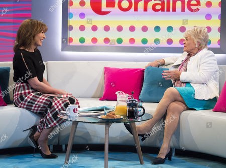 Lorraine Kelly and Judith Chalmers